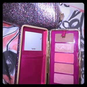 Tarte Life of the party blush palette & 2clutches